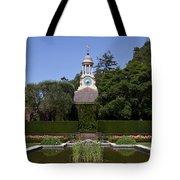 Filoli Garden With Pond Tote Bag