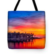 Final Glow Tote Bag by Marvin Spates
