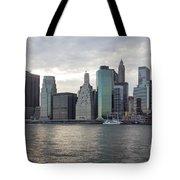 Financial District Skyline Tote Bag