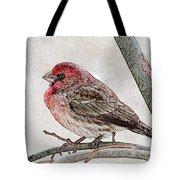 Finch Art Tote Bag
