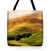 Find The Soul. Golden Hills Of Wicklow. Ireland Tote Bag