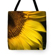 Find The Spider In The Sunflower Tote Bag by Belinda Greb