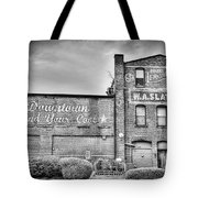 Find Your Coal In Black And White Tote Bag