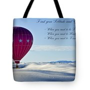 Find Your Solitude Tote Bag