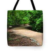 Finding The Way - Yates Mill Tote Bag