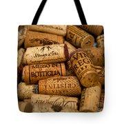 Fine Wine Corks Tote Bag