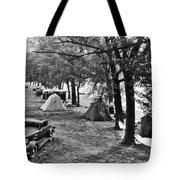 Finger Lakes Camping Tote Bag