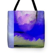 Finger Painting By The Hand Of God 2 Tote Bag