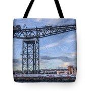 Finnieston Crane Glasgow Tote Bag