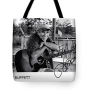 Fins Up From Jimmy Buffett Tote Bag