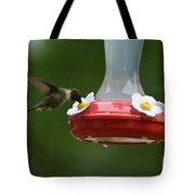 Fiona The Little Female Hummingbird Tote Bag