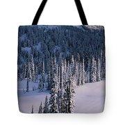 Fir Trees, Mount Rainier National Park Tote Bag