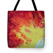 Fire And Glory Tote Bag