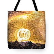 Fire And Ice II Tote Bag