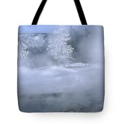 Fire And Ice II - Yellowstone Tote Bag