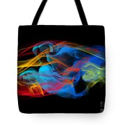 Fire And Ice Smoke  Tote Bag