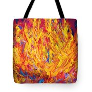 Fire And Passion - Here's To New Beginnings Tote Bag