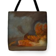 Fire And Sand Tote Bag