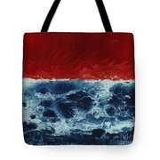 Fire And Water Tote Bag by David Neace