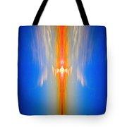 Fire Bird Sky Tote Bag