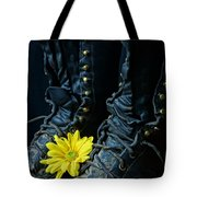 Fire Boots Hdr Tote Bag