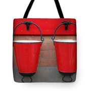 Fire Buckets Tote Bag