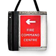 Fire Command Centre Tote Bag