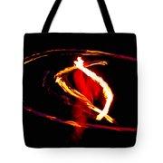 Fire Dancer 2 Tote Bag