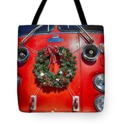 Fire Department Christmas 1 Tote Bag