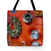 Fire Department Christmas 2 Tote Bag