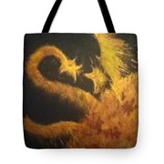 Sun Dragon Tote Bag