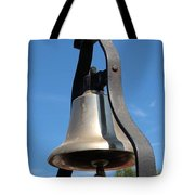 Fire Engine Bell Tote Bag