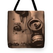 Fire Engine Number Six Tote Bag
