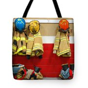 Fire Equipment At Rest Tote Bag