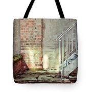 Fire Escape Stairs Tote Bag