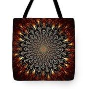 Fire Glyph Tote Bag