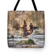 Fire Hydrant For The Weeds Tote Bag