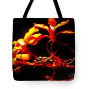 Fire In Bloom Tote Bag