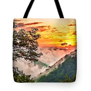 Fire In The Hole - Painted  Tote Bag