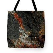 Fire In The Rock. Tote Bag