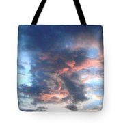 Fire In The Sky - 1 Tote Bag