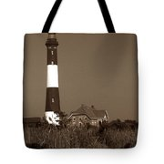 Fire Island Lighthouse Tote Bag by Skip Willits