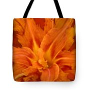 Fire Lily Tote Bag