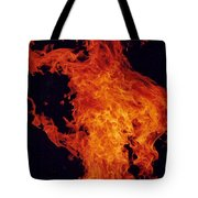 Fire Man Tote Bag