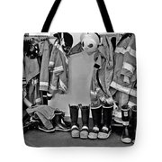 Fire Museum Beaumont Tx Tote Bag by Christine Till