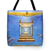 Fire Of Life Tote Bag by Teresa Gostanza
