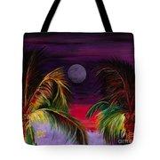 Fire Palms II Tote Bag