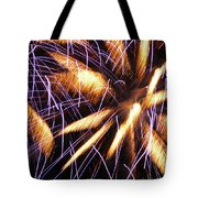 Fire Palms Tote Bag