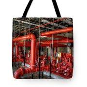 Fire Pump Tote Bag