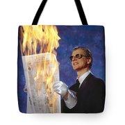Fire Reader Tote Bag
